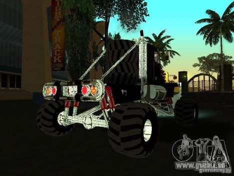 Kenworth W900 Monster pour GTA San Andreas vue de droite
