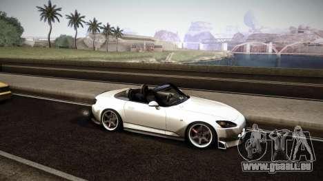 Honda S2000 HellaFlush für GTA San Andreas Seitenansicht