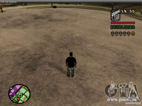 La police de la NFS MW V2 pour GTA San Andreas huitième écran