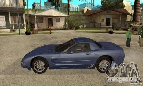 Chevrolet Corvette 5 pour GTA San Andreas salon