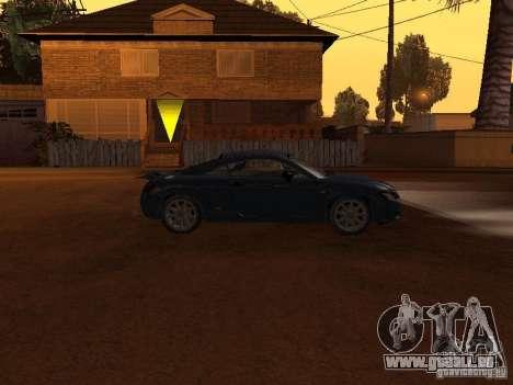 Audi TT 3.2 Quattro pour GTA San Andreas sur la vue arrière gauche