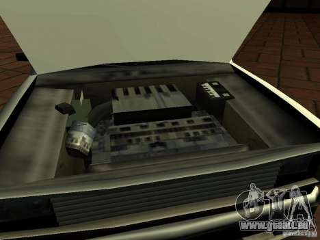New Tuned Bobcat pour GTA San Andreas vue de droite