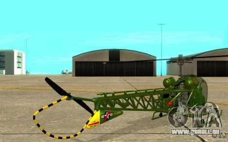 Bell H13 für GTA San Andreas rechten Ansicht