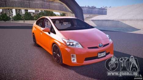 Toyota Prius 2011 pour GTA 4 est un côté