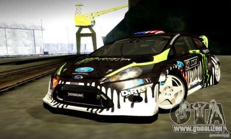 Ford Fiesta Gymkhana 4 pour GTA San Andreas vue de côté