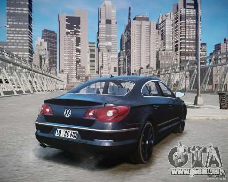 Volkswagen Passat CC für GTA 4 linke Ansicht