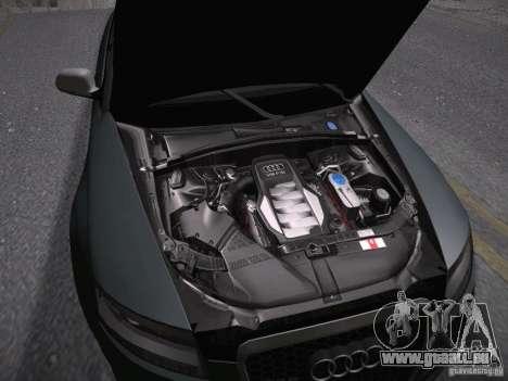 Audi RS6 2009 für GTA San Andreas Innenansicht