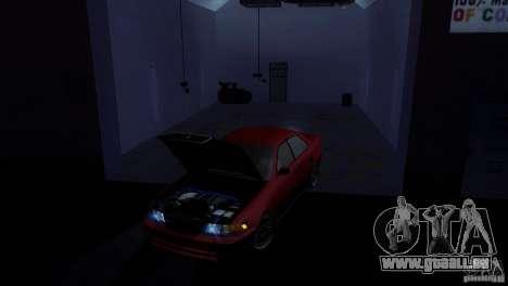 Toyota Mark II 100 für GTA San Andreas zurück linke Ansicht