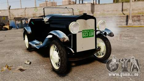 Ford Model T Sabre 1924 pour GTA 4