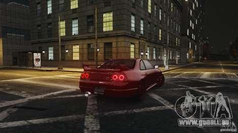 Nissan Skyline R33 GTR V-Spec für GTA 4 rechte Ansicht