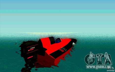 Race Boat für GTA San Andreas zurück linke Ansicht