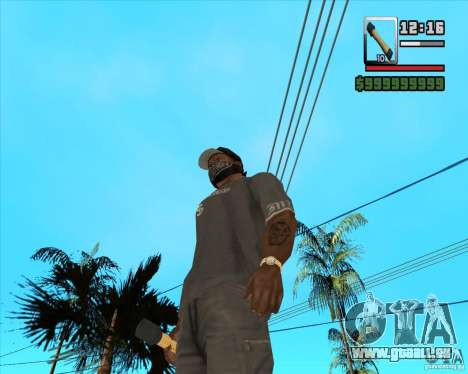 Fusée m-24 pour GTA San Andreas deuxième écran