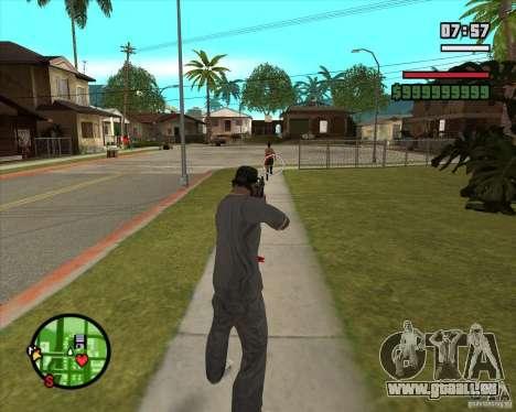 GTA IV Target v.1.0 pour GTA San Andreas cinquième écran