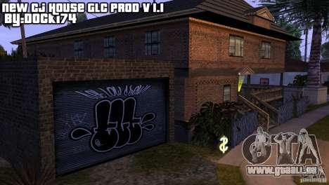 Neue Startseite CJ (neue Cj Haus GLC Prod v1. 1) für GTA San Andreas