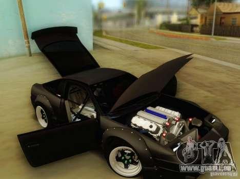 Nissan 240SX Rocket Bunny pour GTA San Andreas vue arrière