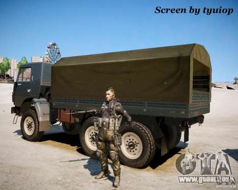Modern Warfare 2 Soap pour GTA 4 secondes d'écran