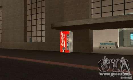 Cola Automat 3 pour GTA San Andreas deuxième écran