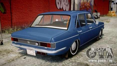 Peykan 1348 1970 pour GTA 4 est un droit