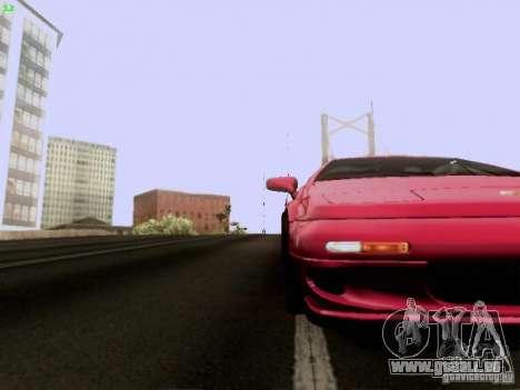 Lotus Esprit V8 pour GTA San Andreas vue de dessus