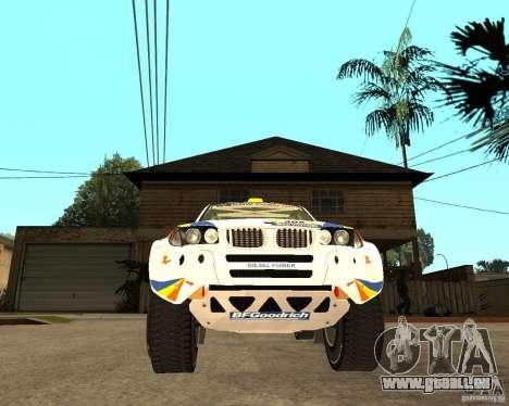 BMW X3CC X-Raid pour GTA San Andreas vue arrière