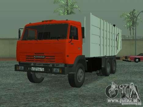 Camion à ordures 53215 KAMAZ pour GTA San Andreas