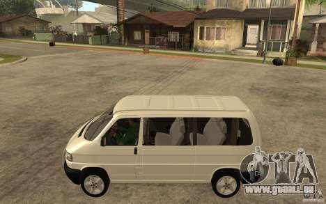 Volkswagen Transporter T4 für GTA San Andreas linke Ansicht