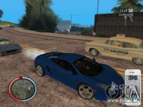 GTA IV HUD Final pour GTA San Andreas neuvième écran