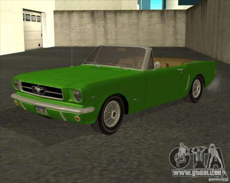 Ford Mustang 289 1964 für GTA San Andreas