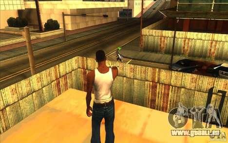 Grande vue pour GTA San Andreas deuxième écran