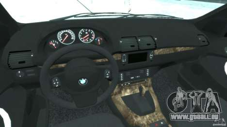 BMW X5 E53 v1.3 pour GTA 4 est un droit