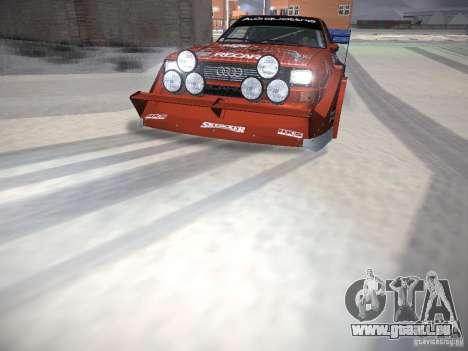 Audi Quattro Pikes Peak pour GTA San Andreas moteur