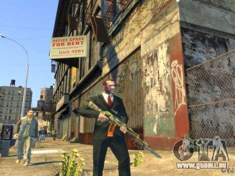 AK-47 pour GTA 4 cinquième écran