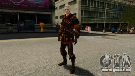 Geralt de Rivia v2 pour GTA 4 quatrième écran
