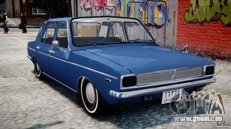 Peykan 1348 1970 pour GTA 4 est une gauche