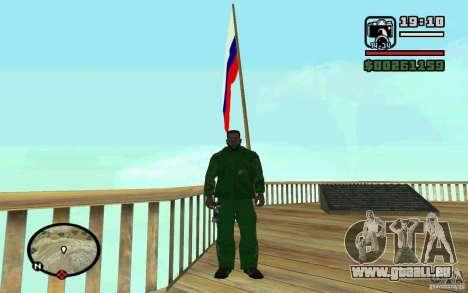 Die Flagge von Russland bei Chiliad für GTA San Andreas dritten Screenshot