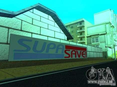 Nouvelle boutique de texture SupaSave pour GTA San Andreas quatrième écran