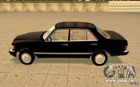 Mercedes Benz 560SEL w126 1990 v1.0 für GTA San Andreas linke Ansicht
