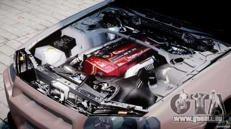 Nissan Skyline GT-R 34 V-Spec pour GTA 4 est un côté
