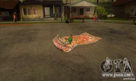Flying Carpet v.1.1 für GTA San Andreas linke Ansicht
