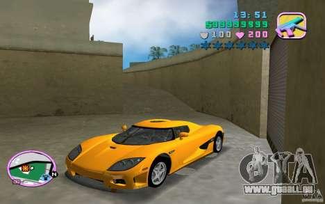 Koenigsegg CCX für GTA Vice City