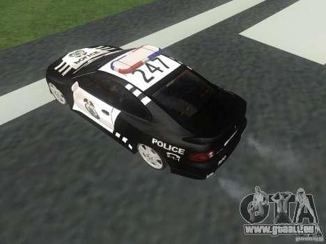 Pontiac GTO Police für GTA San Andreas rechten Ansicht