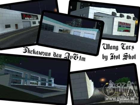 Voitures neuves de Wang-Salon de l'Auto pour GTA San Andreas