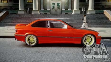 BMW E36 Alpina B8 pour GTA 4 est un côté