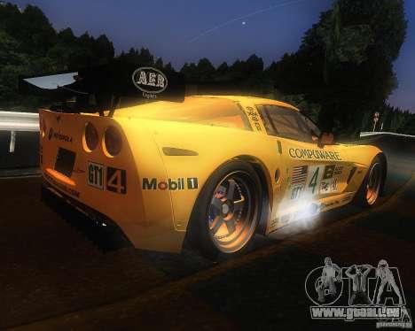 Chevrolet Corvette Drift für GTA San Andreas rechten Ansicht