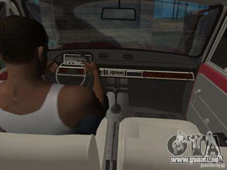 VAZ 2101 für GTA San Andreas Räder