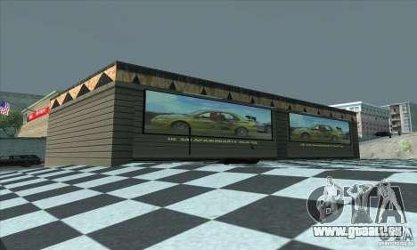 La mise à jour garage CJ dans SF pour GTA San Andreas