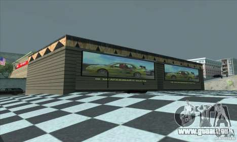 Der aktualisierte Garage CJ in SF für GTA San Andreas