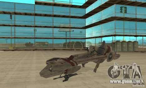 Star Wars speedbike pour GTA San Andreas