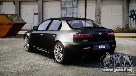 Alfa Romeo 159 Li v2 für GTA 4 Innenansicht