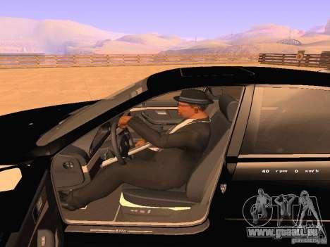BMW M5 E39 Stanced pour GTA San Andreas vue de dessus